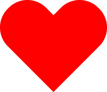 Heart Emoji Icon Vector Illust...