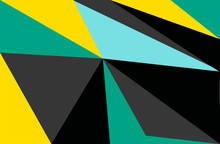 Geometric Abstract Vector Back...