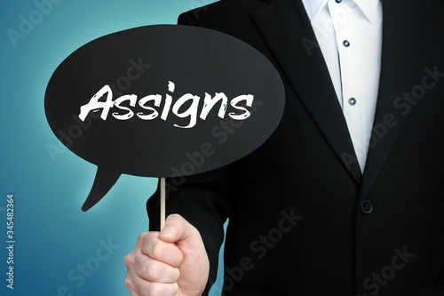 Assigns Canvas Print