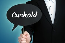 Cuckold. Lawyer In Suit Holds ...