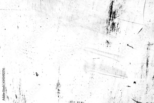 Fototapety, obrazy: grunge metal and dust scratch black and white texture background