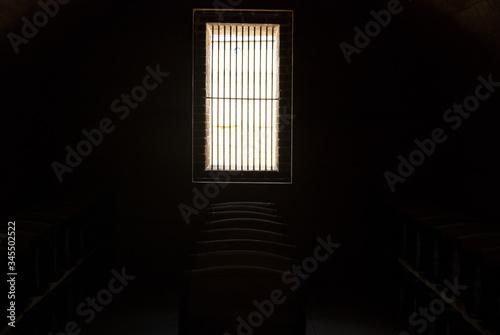 Fotomural Window In Fort