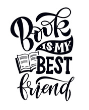 Book Is My Best Friend - Lette...