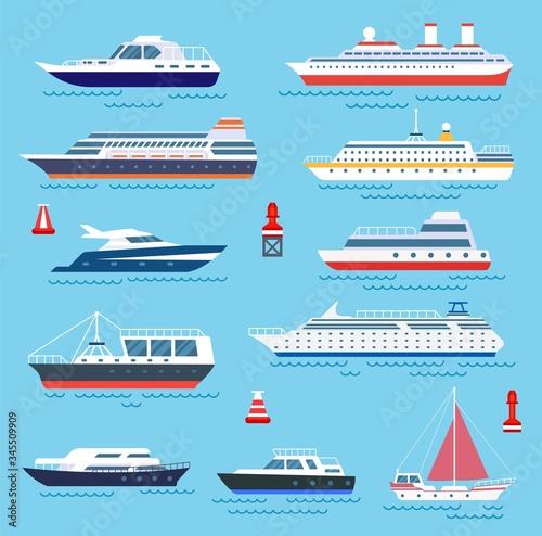 Obraz na plátně Sea ship