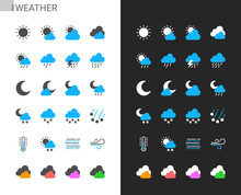 Weather Icons Light And Dark T...