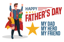Father's Day. Perfect Template...