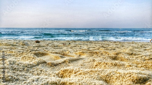 Fototapety, obrazy: Scenic View Of Beach Against Sky