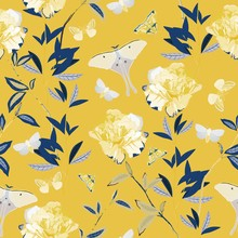 Seamless Vector Pattern With B...