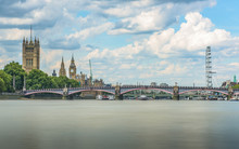 Westminster Bridge Over Thames...
