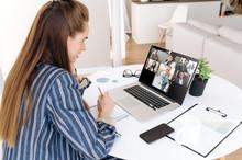 Video Call. Remote Work. Succe...