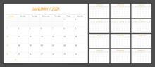 Calendar 2021 Week Start Sunda...