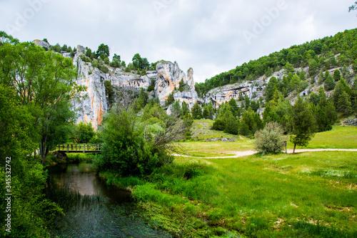 canyon del rio lobos in soria spain