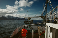 Fishing Boat In The Artic