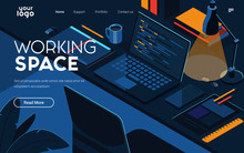 Landing Page Template Of Worki...
