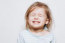 Portrait Of A Little Girl Of 2...