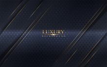 Abstract Luxury Navy Backgroun...