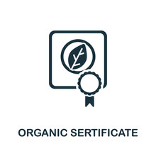 Organic Certificate Icon From ...