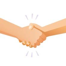 Shaking Hands Handshake Vector...