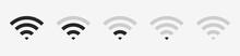 Wi-fi Wireless Icon With Visua...