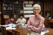 Smiling University Professor I...