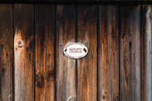 Private Wooden Fence