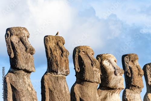 Photo Ahu Tongariki, Easter Island