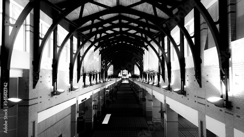 Valokuva Wooden Arches In Chattanooga Convention Center