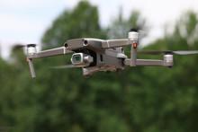 Close-up Of Drone Quadcopter W...