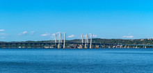 The Mario Cuomo Bridge (earlier Tappan Zee Bridge) Over The Hudson River