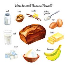 How To Cook Banana Bread Cake ...