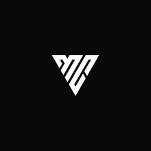 Mc Letter Vector Logo Abstract