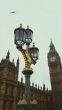 Fototapeta Big Ben - Low Angle View Of Street Light
