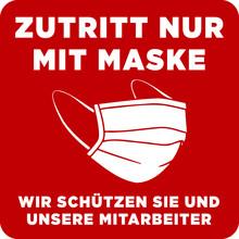 Zutritt Nur Mit Maske