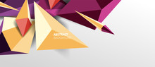 Trendy Simple Triangle Abstrac...