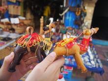 Camel Souvenirs In Morocco, Essaouira, Morocco