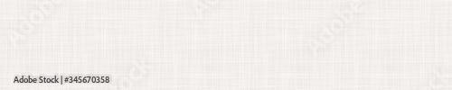 Fotografia Seamless beige woven linen texture border background