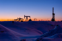 Oil And Gas Drilling Rig. Oil ...