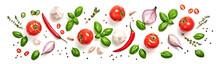 Tomato, Basil Spices, Chili Pe...