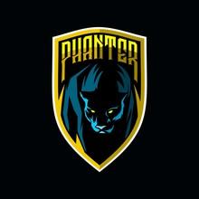 Phanter Mascot Logo