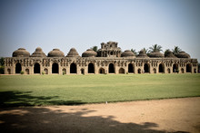 Elephant Houses In India. Hampi.