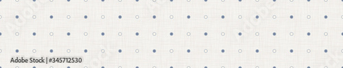 Photo Seamless french farmhouse dotted confetti border pattern