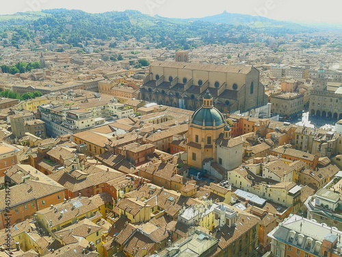Fotografie, Obraz Sanctuary Of Santa Maria Della Vita Amidst Buildings In City