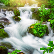 Streams Of Water Beautifully C...