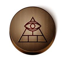 Brown Line Masons Symbol All-s...