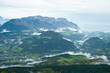 view of Alpine valley from The Kehlsteinhaus, Berchtesgaden National Park