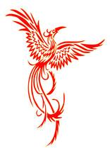Tail; Victory; Mythical; Tribal; Orange; Rise; Retro; Fashion; Flame; Mascot; Hot; Wildlife; Fly; Spiritual; Idea; Label; Magic; Template; Feather; Concept; Freedom; Logo; Emblem; Element; Business; C