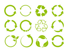 Recycling Icon Collection. Vec...