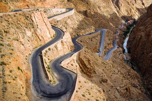 Morocco Gorges du Dades Canvas Print