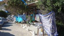 Flea Market Stalls On Roadside...