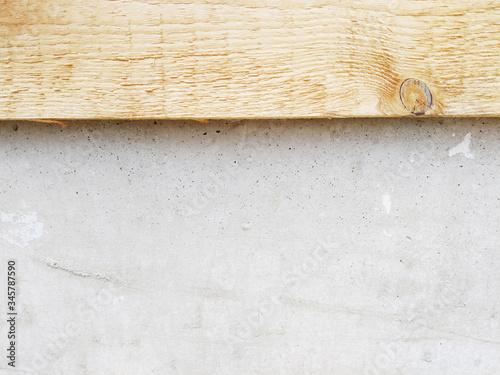 Obraz Holz und Beton - fototapety do salonu